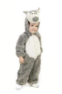 Big Bad Wolf Red Riding Hood Toddler Baby Boys Girls Halloween Costume 18M 2T