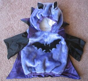 Vampire Bat Costume Infant Toddler Baby 12 24 Months Celebration Halloween XLNT