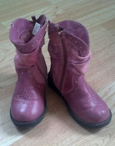 Pink Toddler Cowgirl Boots