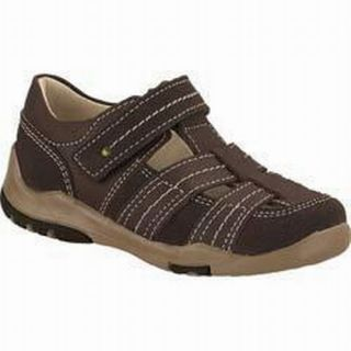 Toddler Boy Brown Leather Sandals Shoes by Ferrato Size 6 7 8 9 10