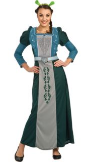 Disney Shrek Princess Fiona Forever After Deluxe Adult Womens Costume Ogre Party