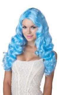 Hot Sexy Sweet Tart Halloween Costume Wig Baby Blue 70614