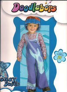 Doodlebops Licensed Rooney Doodle 2T Infant Costume New