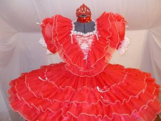 New Adult Baby Sissy Dress Up Mizzglamour 2014 Mizz Princezz of Hearts