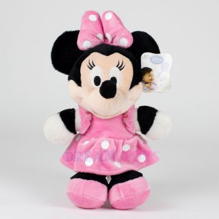 """Disney Minnie Mouse Plush Doll 13"""" Small Pink Baby Infant Stuffed Toy Licensed"""