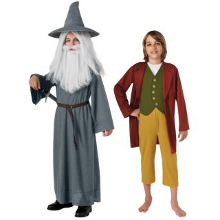 Child Fantasy Movie LOTR Lord of The Rings The Hobbit Gandalf Bilbo Costume