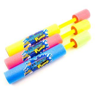 "4pc Lot 10"" Water Pump Foam Super Squirt Gun Pool Toy Yard Fun Cannon Soaker"