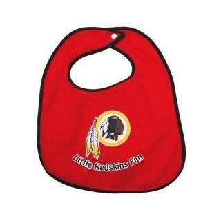 Washington Redskins NFL Football Team Logo Wincraft Little Fan Baby Bib