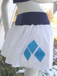 My Little Pony Skirt Rarity MLP FIM Cosplay Your Size Kawaii Halloween Costume
