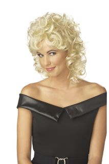50's Grease Sandy Halloween Costume Wig Blonde