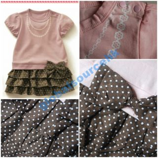 CLEARANCE Sale Baby Kid Boy Girl Cute Casual Onepiece Romper Tee Tutu Dress