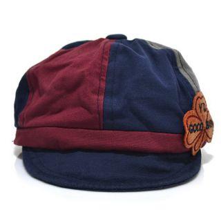 Top Baby Toddler Infants Boys Girls Newsboy Mixed Color Baseball Cap Beanie Hat