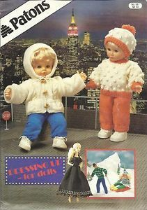 Patons Knitting Patterns For Dolls Clothes : Vogue 9230 524 Doll Pattern 15