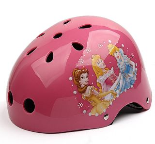 Cartoon Mountain Road Bicycle Racing Ski Helmet Cycle Skate K0192