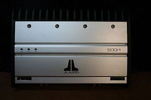 JL Audio 500 1 Car Power Amplifier Mono Block Subwoofer Amplifier Needs Repair