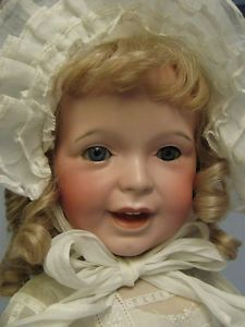 """29"""" Antique SFBJ 236 French Toddler Character Doll Pretty Antique Clothes"""