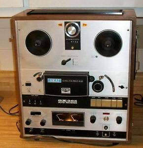 Akai GX 365 Auto Reverse Reel to Reel Tape Player w Owners Manual Schematics