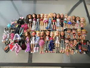 Huge Bratz Doll Lot 100 Pieces Rock Angel Lil Baby Kidz Clothes WOW Must See