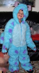 UM Sully Costume  Monsters University Inc Child 6 7 8 Boy Girl