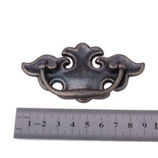 90mm Antique Brass Elegant Could Style Cabinet Door Drawer Handles Wardrobe Pull