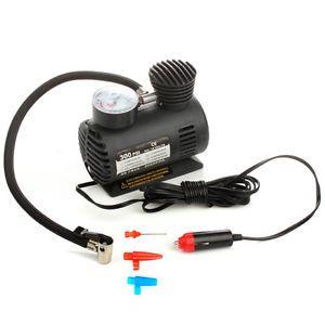 300 PSI 12V Car Auto Portable Pump Tire Tyre Inflator Mini Air Compressor Tool