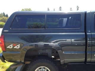 Snugtop Snug Top Chevy GMC Truck Leer Shell camper Utility Topper Silverado