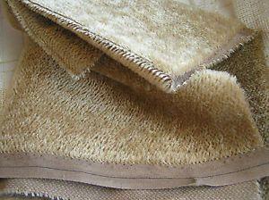 Mohair Fat 1 4 Yard 5mm Sparse Straight Cocoa Brown Teddy Bear Fabric