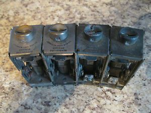 Vintage Johnson Fare Box Co Coin Changer 4 Different Coins Bus Railroad Chicago