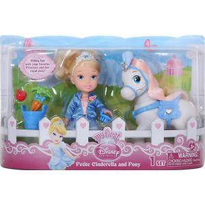 Disney Princess 6 inch Toddler Doll and Pony Cinderella