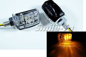 LED Motorcycle Turn Signals Amber