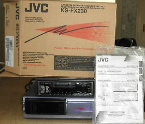 JVC Car Stereo with Cassette Radio 12 C D Player