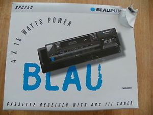 Blaupunkt RPC 250 Am FM Stereo Radio Cassette Player for Car New in Box