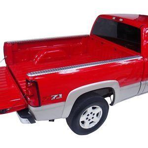 11999 Dee Zee Brite Aluminum Bed Rail Caps Chevy GMC C K Truck 8' 1988 1998