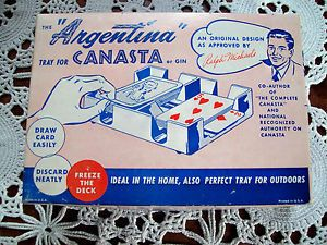 Canasta Playing Card Holder