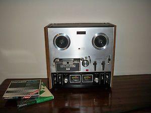 Vtg Akai GX 210D 3 Head 3 Motor Auto Reverse Reel to Reel Tape Player Recorder