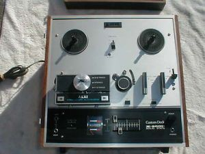 Vintage Akai x 200D Solid State Auto Reverse Reel to Reel Tape Recorder Player