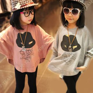 1pc Girls Baby Long Sleeve School Top Dress Kid Cotton Party Autumn Skirt FT147
