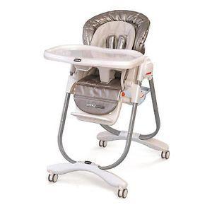 Chicco Polly Magic High Chair Silver
