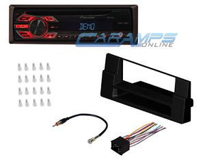 ★ E39 5 Series Pioneer Car Stereo w Complete Dash Installation Kit Accessories ★