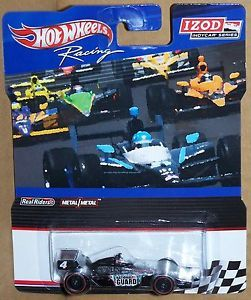 Hot Wheels IZOD Indy Car 4 National Guard with Real Rider Tires
