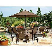 New Jaclyn Smith Today Dawson 4 PK Bar Chairs Patio Furniture