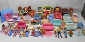 Fisher Price Loving Family Dollhouse Furniture People Tent Big Lot