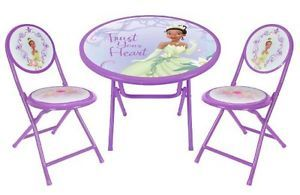... Disney Princess and The Frog Round Kids Room Activity Table and Chair Set ...  sc 1 st  PopScreen & Toddler Kids Disney Characters Activity Table Chair Set