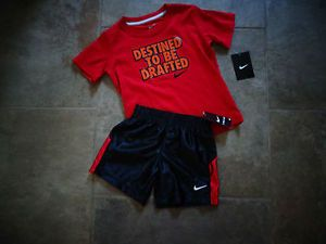 0cef767100d945 ... Boys Nike Basketball Short Set 3T Born to Be Drafted Halloween Costume  Nike  Jordan Baby Infant Girls 3 ...