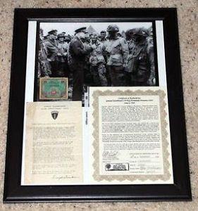 Original WWII Eisenhower D Day Normandy Invasion Letter