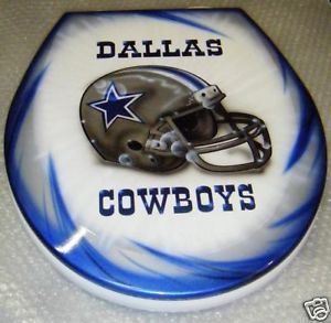 Dallas Cowboys Design Airbrushed Toilet Seat NFL