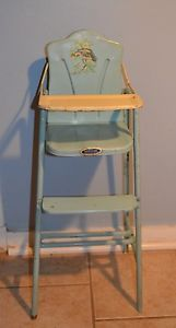 Vintage 1950  Roebuck Happy Times High Chair for Your Baby Doll