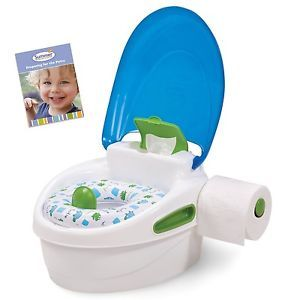 Potty Training Step Stool Trainer Baby Boys Girls Toilet Seat Chair Travel Pants