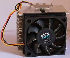 Cooler Master CM12V CPU Fan with Heatsink Heat Sink Cooler Cooling Free Post