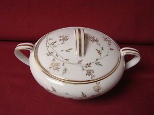 Noritake China Dinnerware Florence 5528 Covered Sugar Bowl